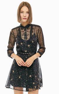 Платье-рубашка с цветочным принтом Patrizia Pepe