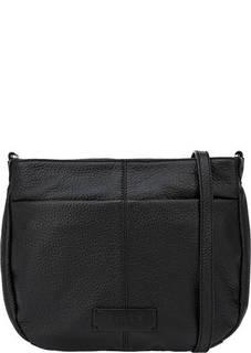 Кожаная сумка через плечо с двумя отделами на молнии Fiato