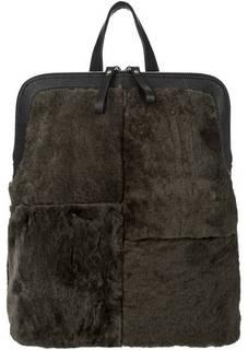 Сумка-рюкзак из натурального меха Io Pelle