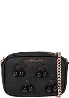 Маленькая сумка черного цвета Tosca Blu