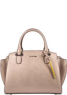Кожаная сумка через плечо с одним отделом Cromia