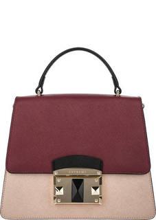 Кожаная сумка в форме трапеции Cromia