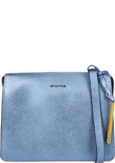 Маленькая кожаная сумка на молнии Cromia