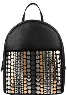 Кожаный рюкзак с металлической отделкой Cromia