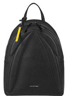 Черный рюкзак из сафьяновой кожи Cromia