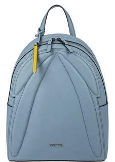 Синий рюкзак из сафьяновой кожи Cromia
