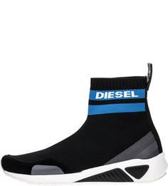 Летние кроссовки черного цвета Diesel