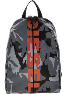 Рюкзак с камуфляжным принтом Diesel