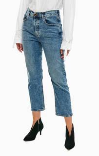 Укороченные джинсы синего цвета Aryel Diesel