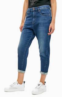 Укороченные джинсы бойфренд синего цвета Candys-Ne Diesel