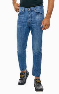 Зауженные джинсы с заломами Mharky Diesel