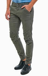 Зауженные джинсы цвета хаки 5620 G Star Raw