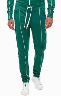 Зеленые трикотажные брюки джоггеры G Star Raw