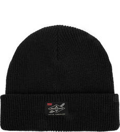 Черная шапка бини Fresh Leaves Levis