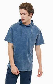 Хлопковая толстовка с короткими рукавами Blue Seven