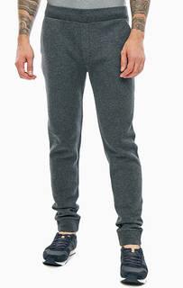 Трикотажные брюки джоггеры серого цвета Napapijri