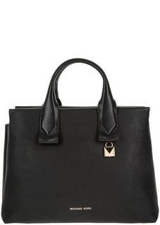 Кожаная сумка с одним отделом Rollins Michael Kors