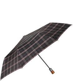 Складной зонт с деревянной ручкой Goroshek