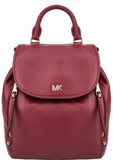 Сумка-рюкзак из зерненой кожи Evie Michael Kors