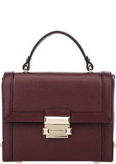 Маленькая сумка из натуральной кожи Jayne Michael Kors