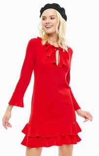 Короткое платье красного цвета Liu Jo