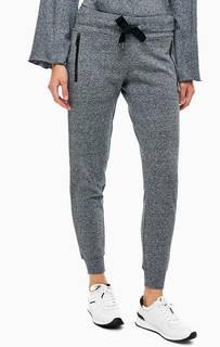 Серые брюки джоггеры в спортивном стиле Dkny