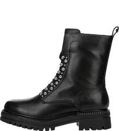 Высокие ботинки из натуральной кожи Tamaris