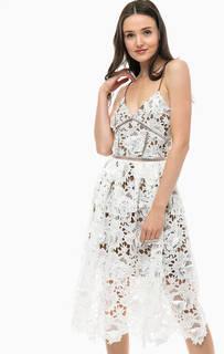 Кружевное платье-сарафан Silvian Heach