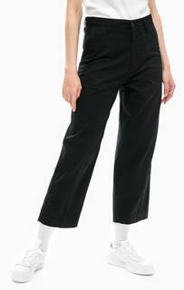 Укороченные брюки черного цвета Carhartt WIP