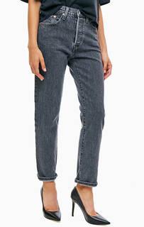 Серые джинсы с высокой посадкой 501® Original Levis