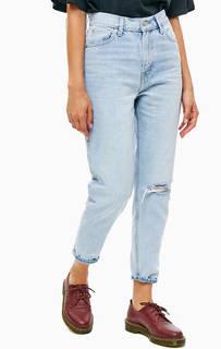 Джинсы с высокой посадкой Mom Jeans Levis