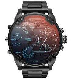 Часы-хронограф с тонированным стеклом Diesel