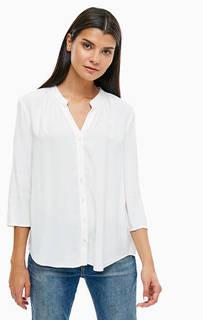 Белая блуза на пуговицах Marc Opolo