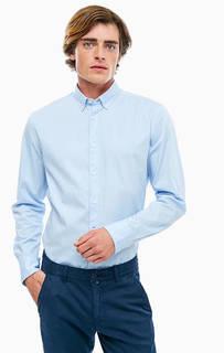 Классическая приталенная рубашка из хлопка Marc Opolo