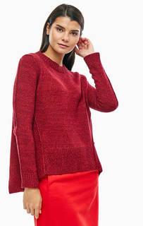 Джемпер бордового цвета с содержанием шерсти Marc Opolo