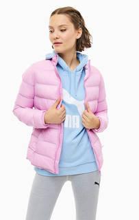 Розовая куртка с карманами Puma