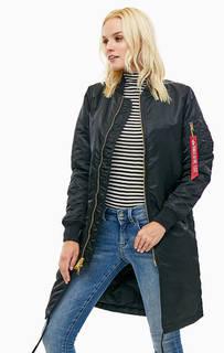 Удлиненная куртка с эластичным воротом Alpha Industries