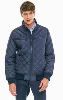 Синяя куртка с карманами Tommy Hilfiger