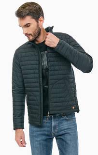 Черная стеганая куртка Jack & Jones
