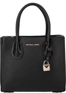 Маленькая кожаная сумка с дополнительным плечевым ремнем Mercer Michael Kors