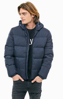 Зимний пуховик с капюшоном Calvin Klein