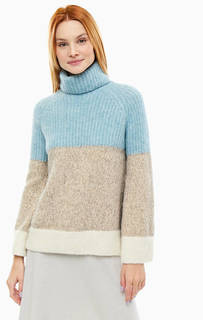 Шерстяной свитер с высоким воротом Stefanel