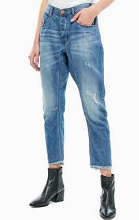 Зауженные джинсы с рваными деталями One Teaspoon