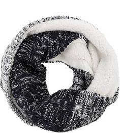 Вязаный шарф-хомут с подкладкой Superdry