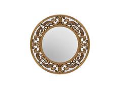 Зеркало круглое в золотой раме Garda Decor