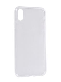Аксессуар Чехол Zibelino Ultra Thin Case для APPLE iPhone XS Max Transparent ZUTC-AP-XSMAX-WHT