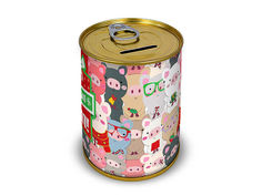 Копилка для денег Canned Money С Новым годом! 410053