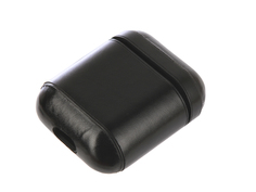 Аксессуар Чехол Gurdini Premium Leather для Airpods Black 906876