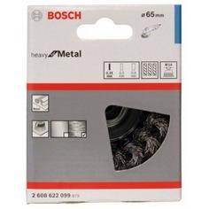 Щетка чашечная (65 мм; м14) стальная витая bosch 2608622099