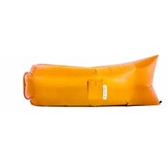 Надувной диван биван классический, цвет оранжевый bvn18-cls-orn